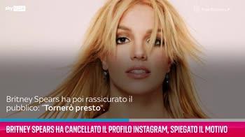 VIDEO Britney Spears, perché si è cancellata da Instagram