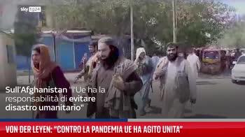 Von der Leyen: ?Contro la pandemia Ue ha agito unita?