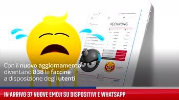 In arrivo 37 nuove emoji su dispositivi e WhatsApp