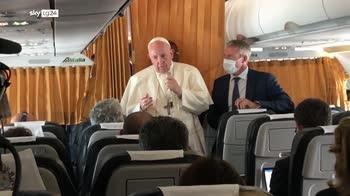 ERROR! Papa: s� ad unioni civili ma il matrimonio � altra cosa