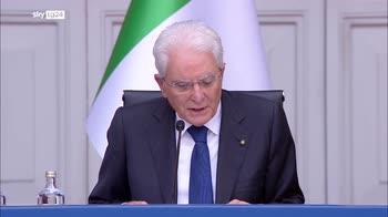 Mattarella: a Ue serve politica estera e difesa comune