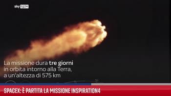 SpaceX: � partita la missione Inspiration4