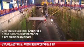 Usa, GB, Australia: partnership contro la Cina