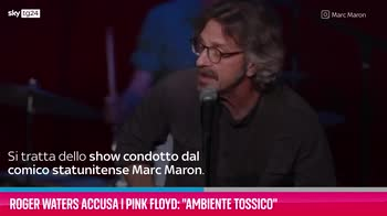 """VIDEO Roger Waters accusa i Pink Floyd: """"Ambiente tossico"""""""