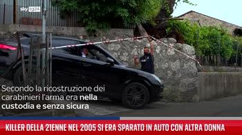Killer della 21enne nel 2005 si era sparato in auto con altra donna