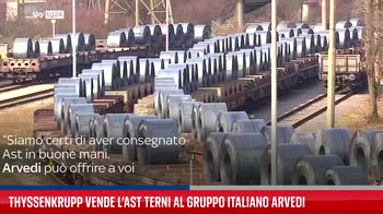 ThyssenKrupp vende l?Ast Terni al gruppo italiano Arvedi