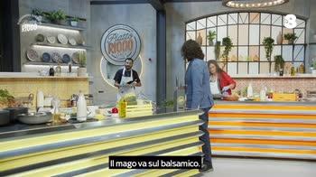 Alessandro Borghese Piatto Ricco tentazione aceto balsamico