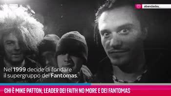 VIDEO Chi è Mike Patton dei Faith No More e dei Fantomas