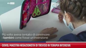 Covid, maestra negazionista di Treviso in terapia intensiva