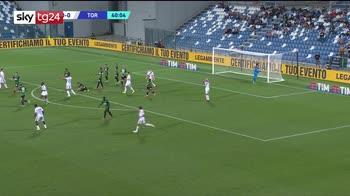 Serie A, Sassuolo-Torino 0-1: gli highlights