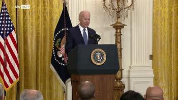 """Biden: """"Rapporto Onu su clima � codice rosso per umanit�"""""""