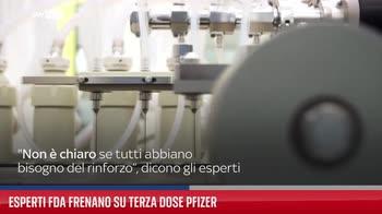 Esperti Fda frenano su terza dose Pfizer