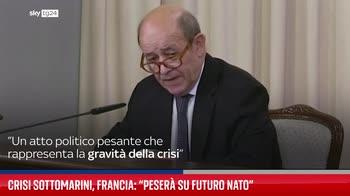 Crisi sottomarini, Francia: ?Peser� su futuro Nato?