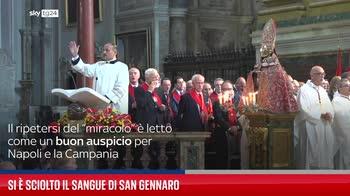 Si � sciolto il sangue di San Gennaro