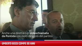 Umberto Bossi compie 80 anni