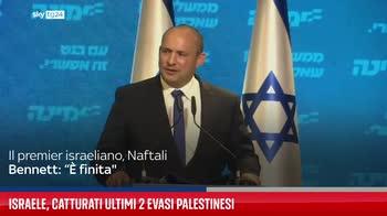 Israele, catturati ultimi 2 evasi palestinesi