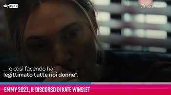 VIDEO Emmy 2021, il discorso di Kate Winslet