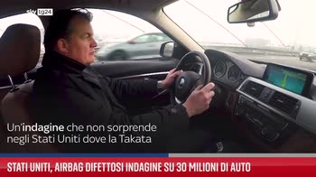 Stati Uniti, airbag difettosi indagine su 30 milioni di auto
