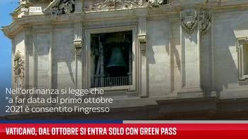 Vaticano, dal ottobre si entra solo con Green Pass