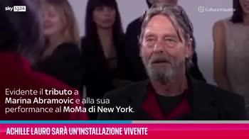 VIDEO Achille Lauro sarà un'installazione vivente