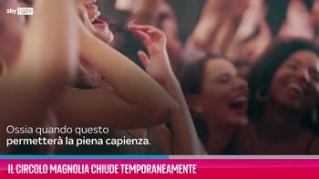 VIDEO Milano, Il Circolo Magnolia chiude temporaneamente