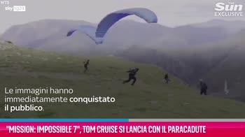 VIDEO Mission: Impossible 7, il nuovo video con Tom Cruise