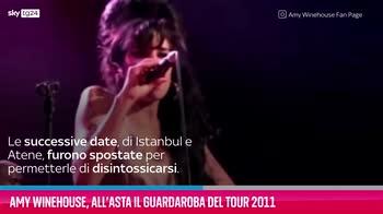 VIDEO Amy Winehouse, all'asta il guardaroba del tour 2011