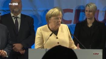 ERROR! Merkel: domenica andrete a gettare le basi