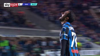 Serie A, Atalanta-Sassuolo 2-1: gol, video e highlights