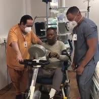 """Pelé continua la riabilitazione: """"Pedalando così..."""""""