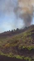 Eruzione Canarie, il video del fiume di lava