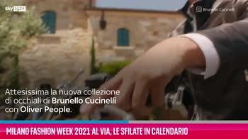 VIDEO Milano Fashion Week 2021, le sfilate in calendario