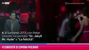VIDEO Simona Molinari, 8 curiosità sulla cantante