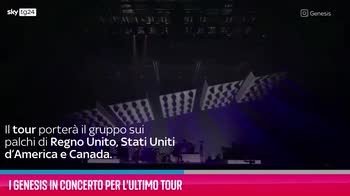 VIDEO I Genesis in concerto per l'ultimo tour