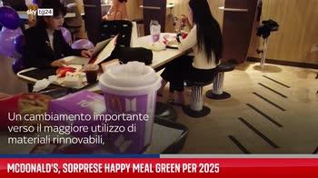 McDonald's, sorprese Happy Meal green per 2025
