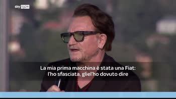 Bono: La mia prima auto � stata una Fiat