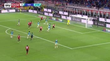 Serie A, Milan-Venezia 2-0: video, gol e highlights