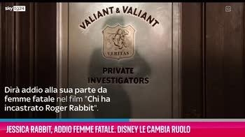 VIDEO Jessica Rabbit, Disney le cambia ruolo