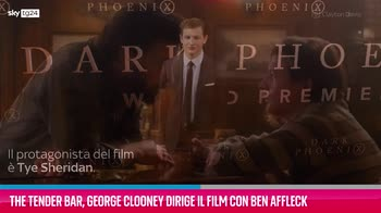 VIDEO The Tender Bar, George Clooney dirige il film