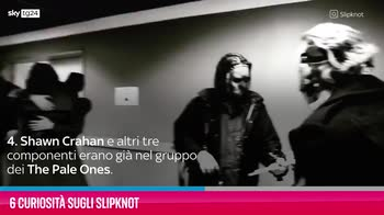 VIDEO 6 curiosità sugli Slipknot