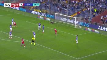 Sampdoria-Napoli 0-4: gol e highlights