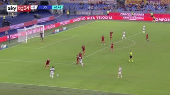 Serie A, Roma-Udinese 1-0: video, gol e highlights