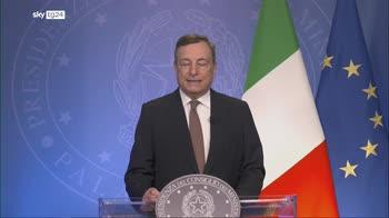 Draghi all'Onu: evitare che Afghanistan torni minaccia a sicurezza internazionale