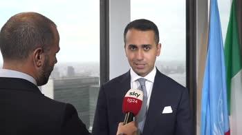 L'intervista di Sky TG24 al ministro degli Esteri Lugi Di Maio