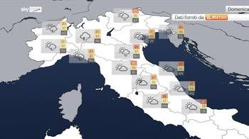 Previsioni meteo: weekend a doppia faccia