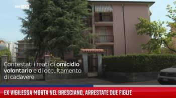 Ex vigilessa morta nel Bresciano, arrestate due figlie