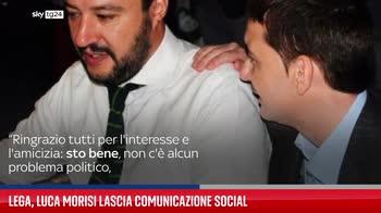 Lega, Luca Morisi lascia comunicazione social