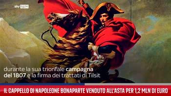 Il cappello di Napoleone Bonaparte venduto all'asta per 1,2 milioni di euro