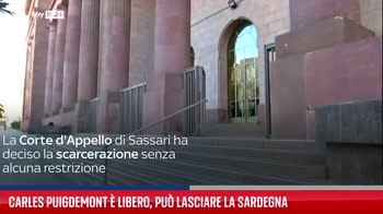 Carles Puigdemont � libero, pu� lasciare la Sardegna