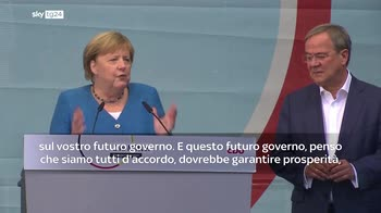 Elezioni Germania, Merke: in gioco stabilit� Paese